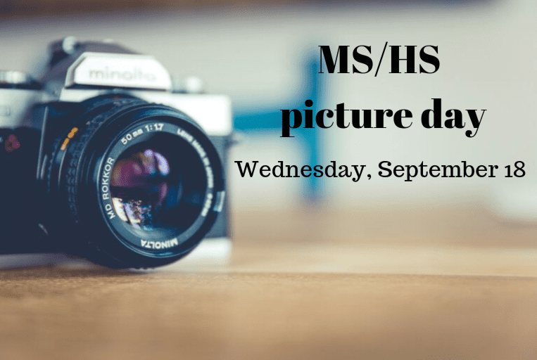 MS/HS Picture Day