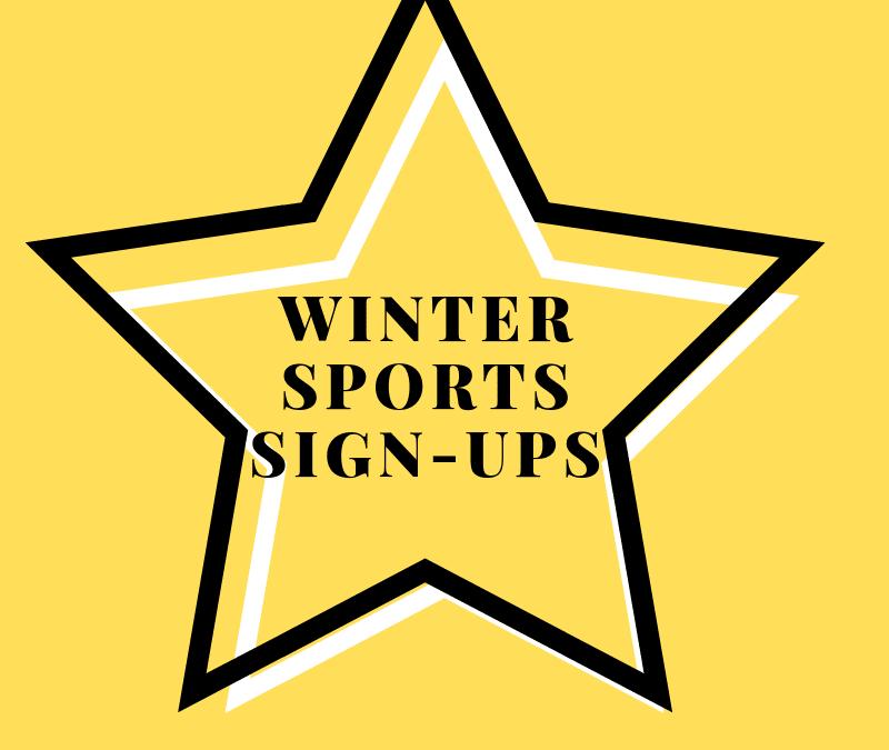 Winter Sports Sign-Ups