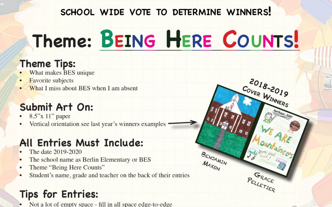 BES 2nd Annual Students-Designed Yearbook Cover Contest