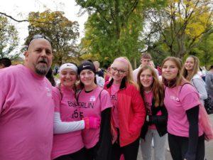 team members at the walk