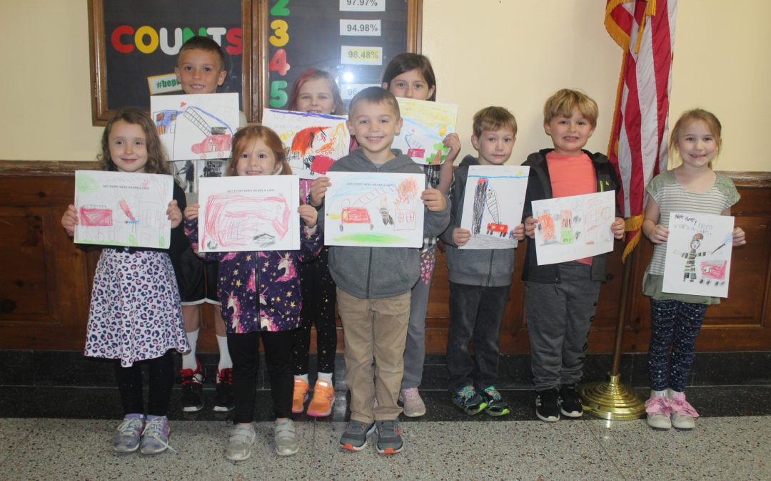 2019 BES Fire Prevention Poster Winners