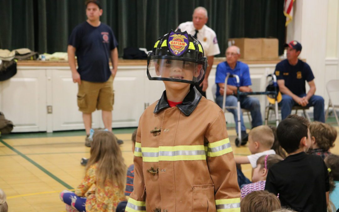 Fire Prevention Day at BES