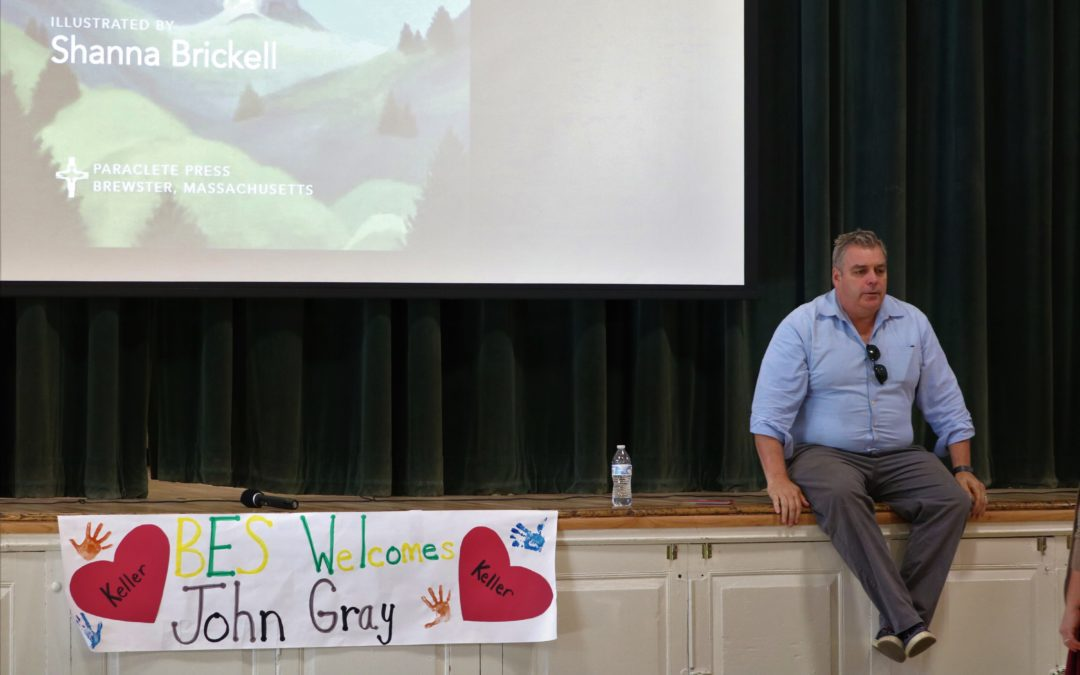 Author John Gray Visits BES