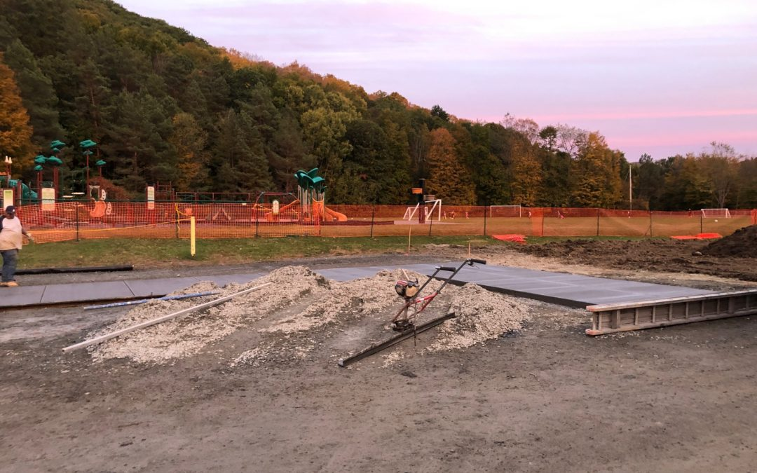 Capital Project Update – Sidewalk Construction at BES