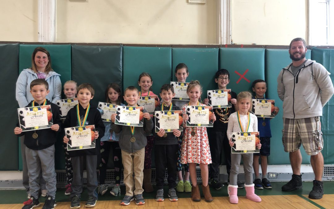 BES Announces Fall Fitness Medal Winners