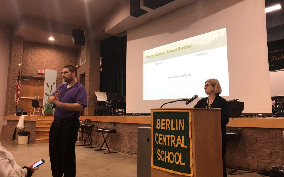 Berlin Principal Invites Families to Discuss the Future of the Berlin Athletic Program