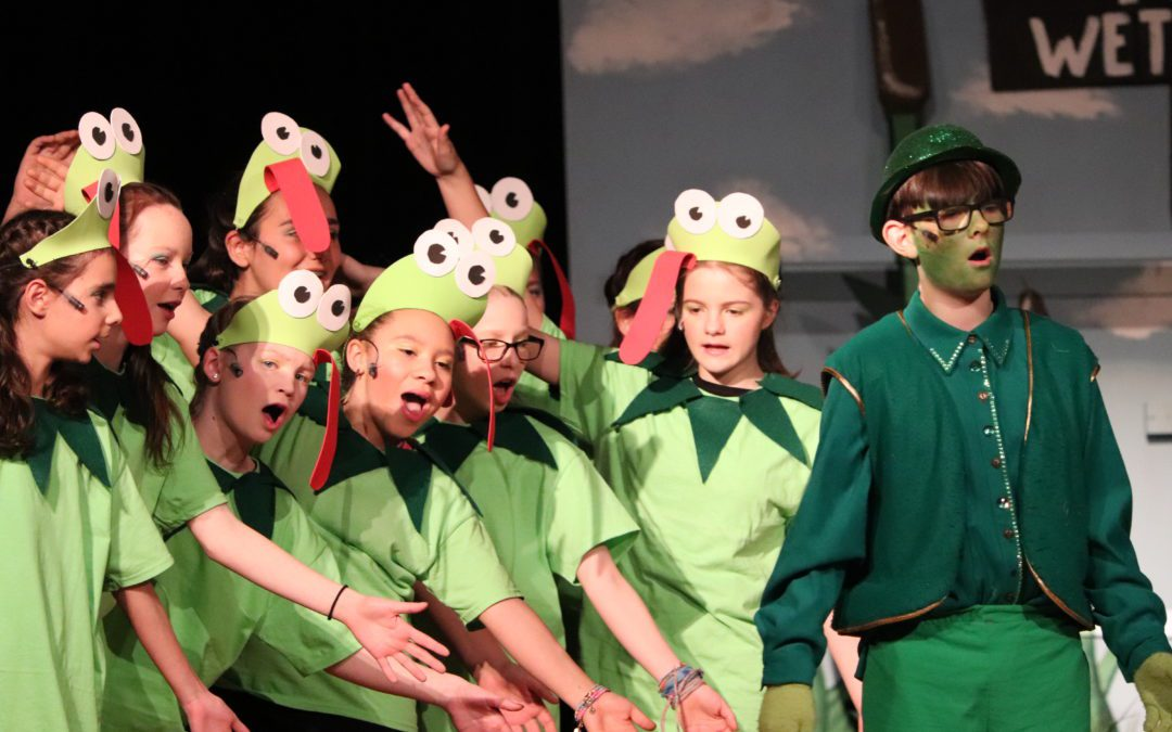 BES attends a special performance of Honk Jr.