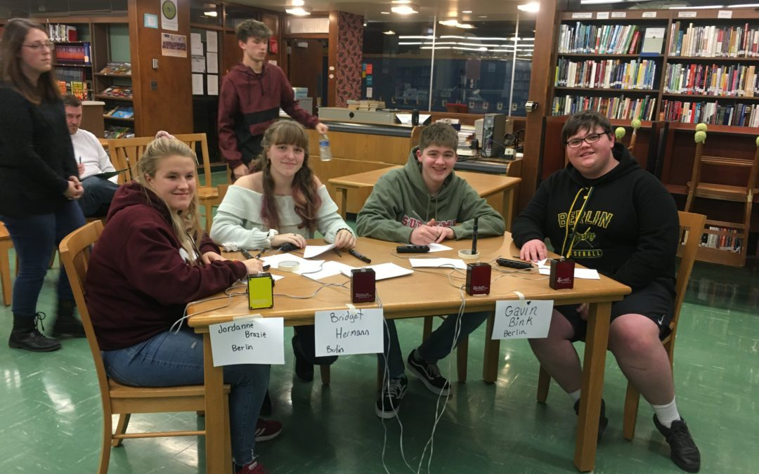 Berlin MasterMinds compete in their first meet of the season