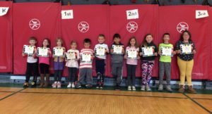 PE students of the month