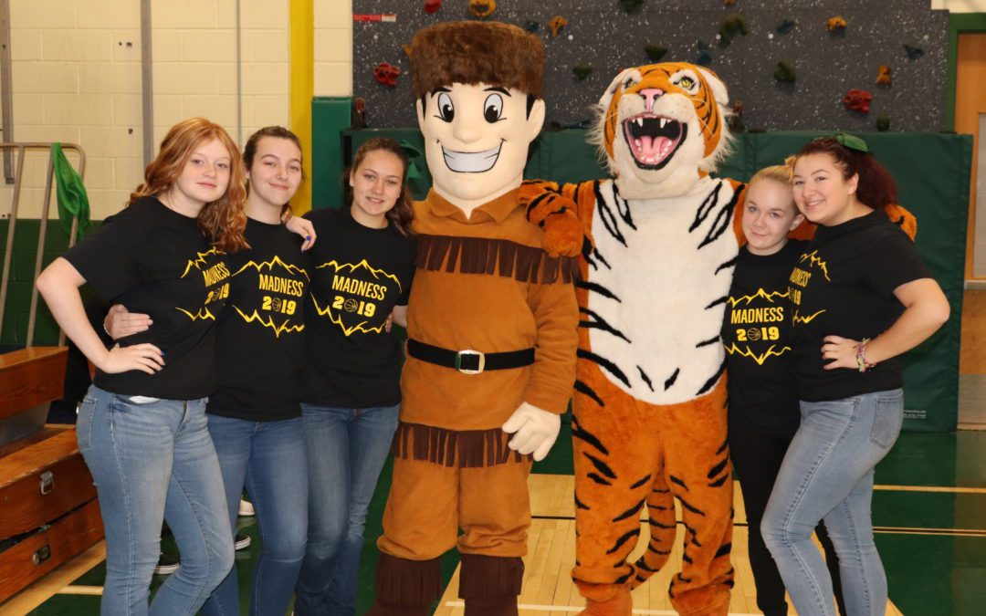 Mountain Madness shows Mountaineer and Tiger pride!