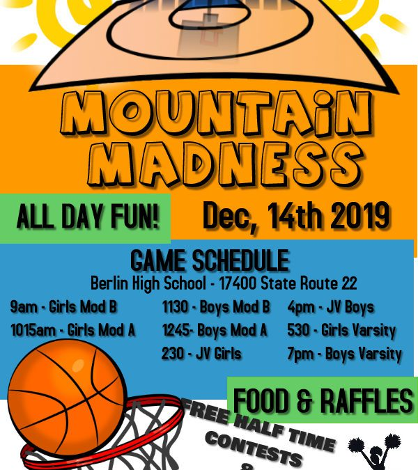 Mountain Madness this Saturday!
