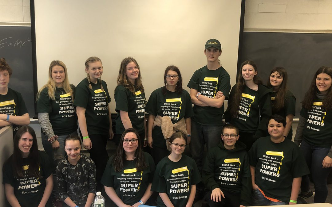 Berlin Competes In Science Olympiad