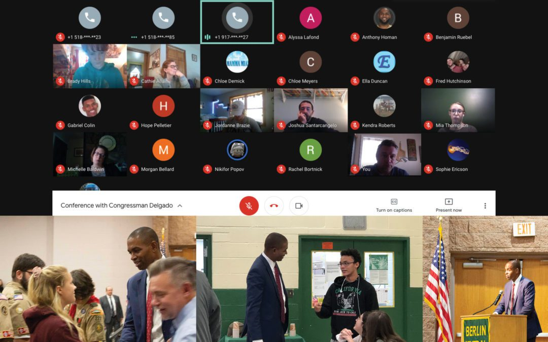 Congressman Antonio Delgado Virtually Joins History Class To Take Questions
