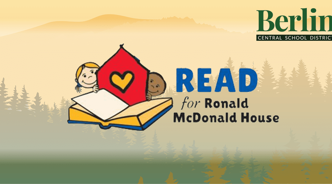 Information regarding Read for RMH donations