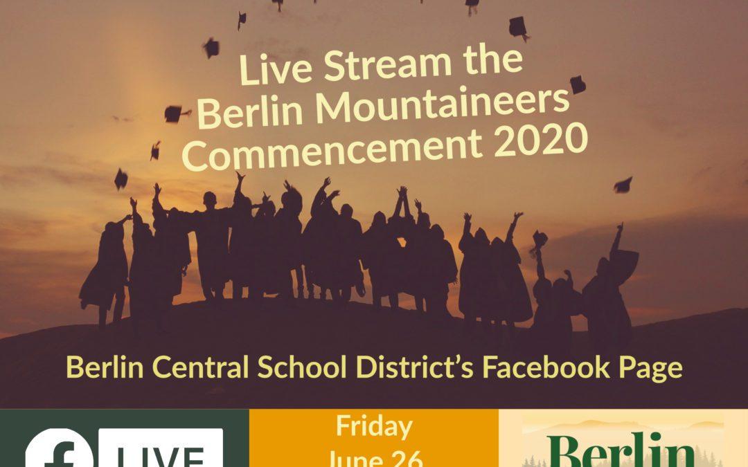 Class of 2020 Graduation Live Stream