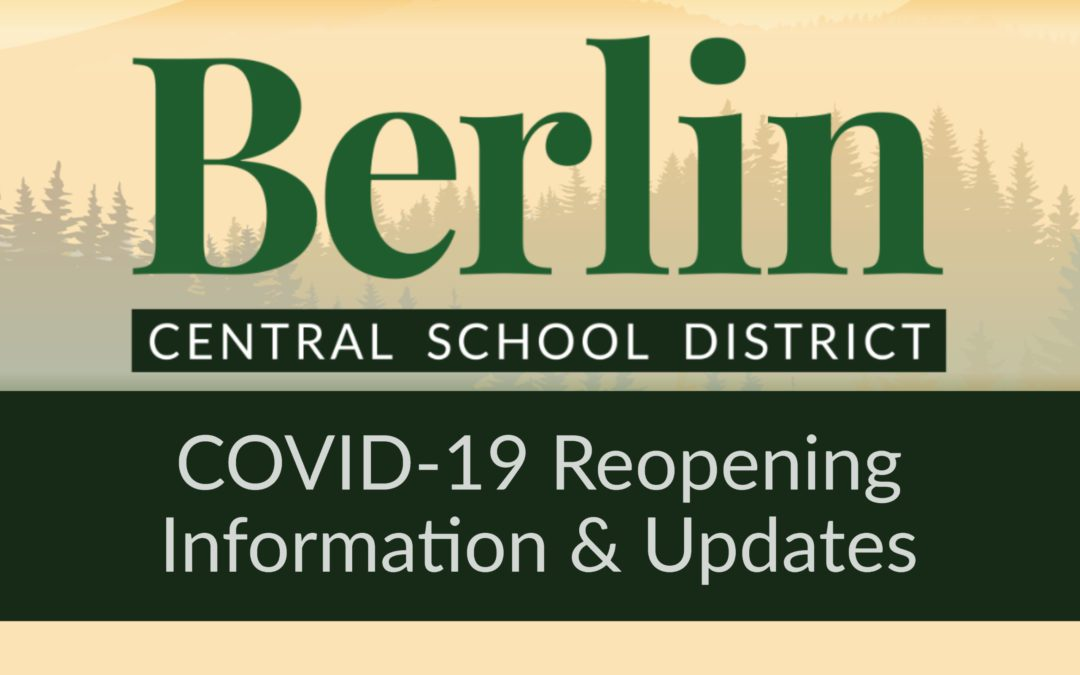 BCSD 2020-2021 School Year Reopening Resource Page