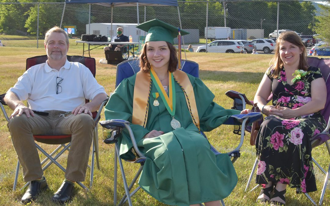 Candid Photos from Graduation 2020