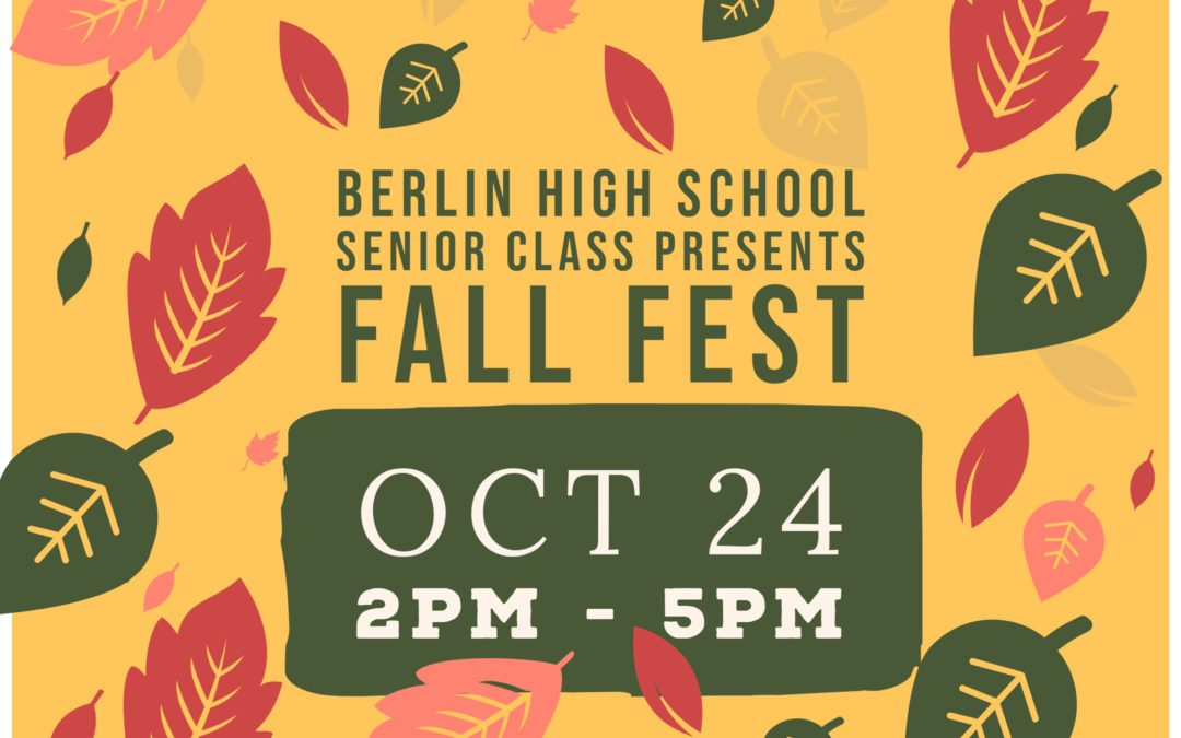 UPDATE: Fall Fest and Virtual Run Information