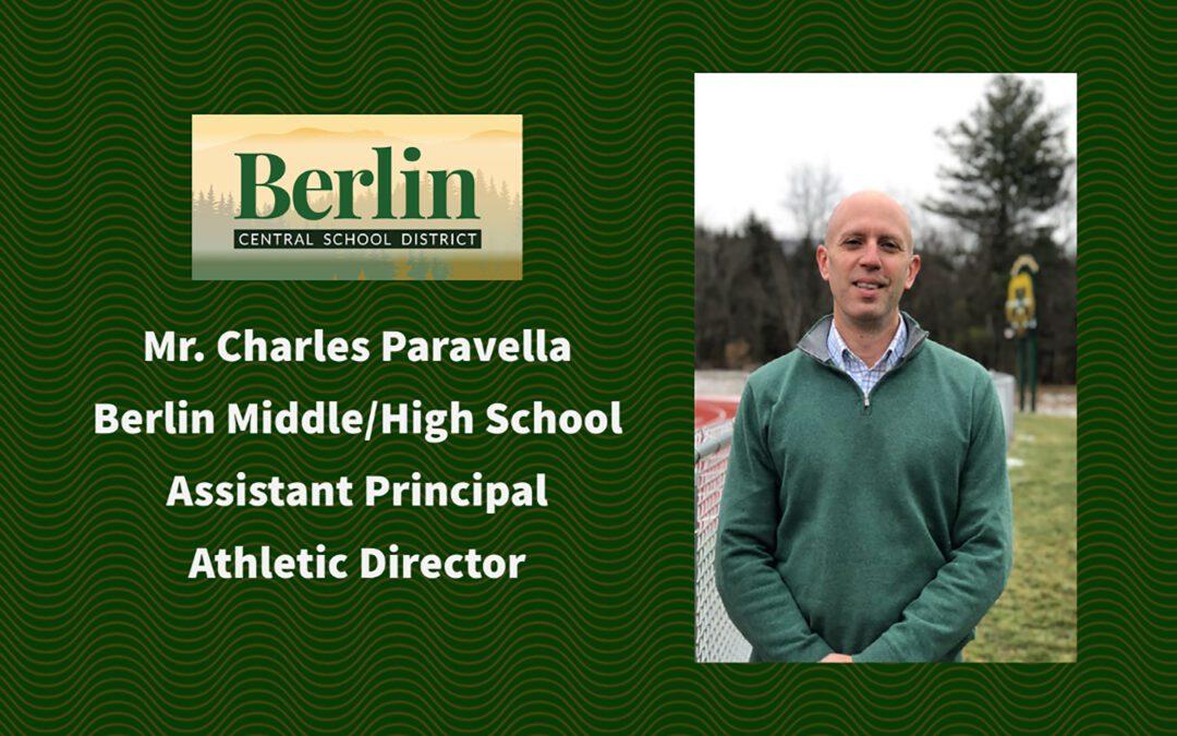 Meet Mr. Paravella BMHS Assistant Principal/Athletic Director