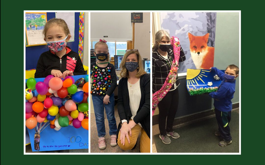 BES Celebrates the 100th Day of School