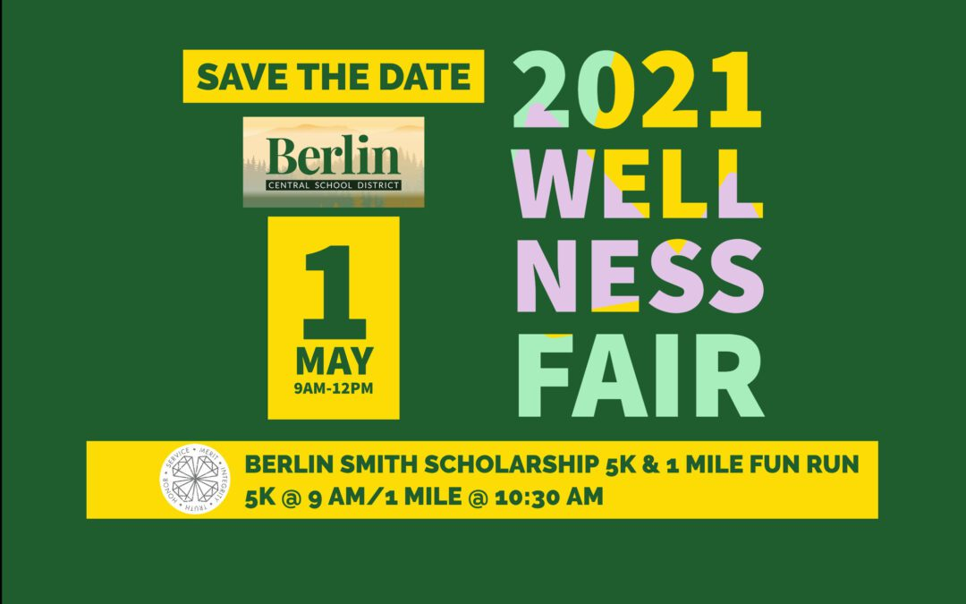 Save the Date for BCSD's Annual Spring Wellness Fair May 1st