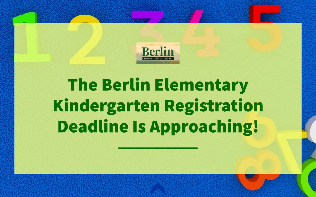 BES 2021–2022 Kindergarten Registration Is Open