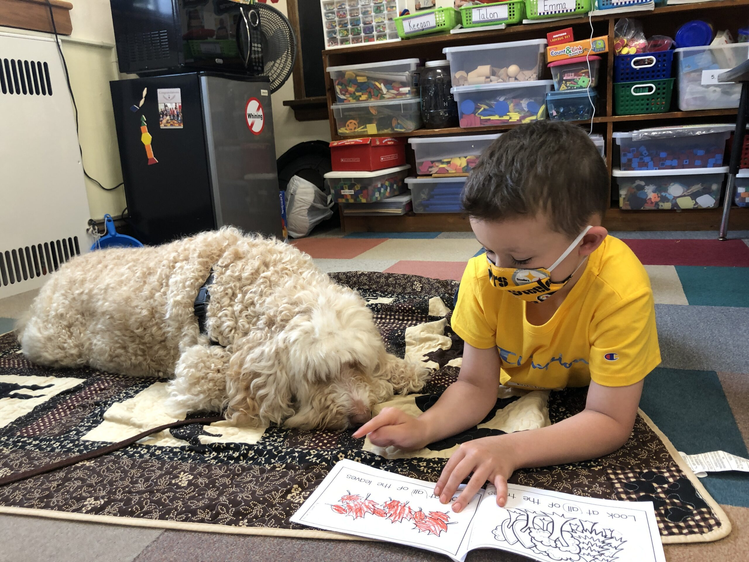 BES' Favorite Reading Buddy Is Back!