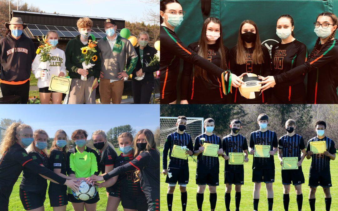 BCSD Celebrates Fall 2 Senior Athletes