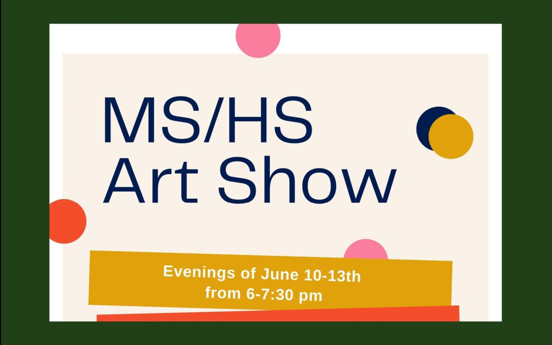 BMHS Art Show Opening Today & Find the BES Artshow Video Here