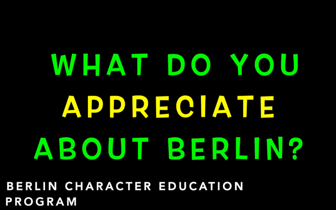 Appreciation Is the Focus This Week at BMHS