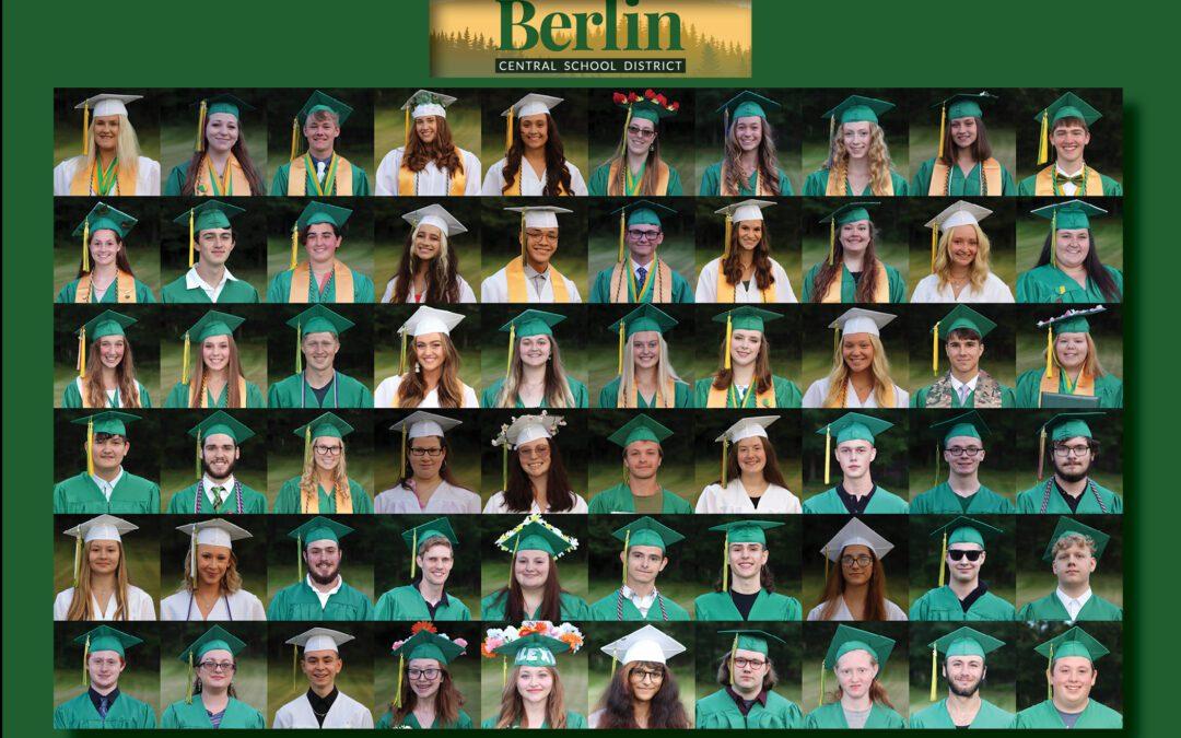 Berlin High School Class of 2021 Commencement
