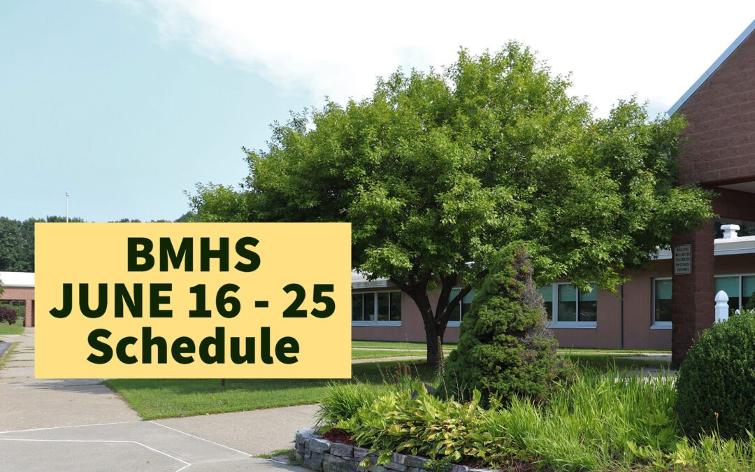BMHS Daily Schedule Information