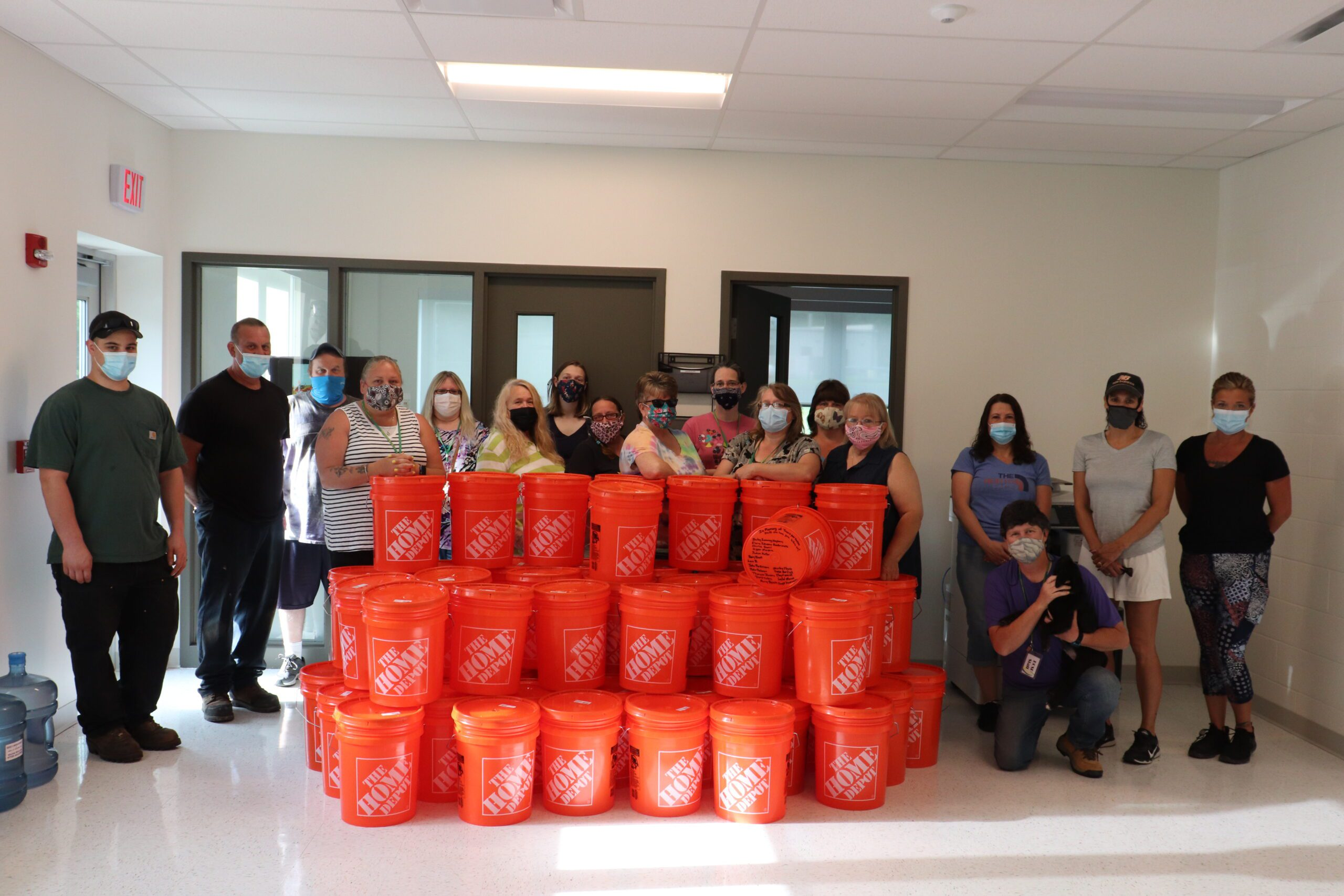 BCSD's Transportation Department Goes Above and Beyond for Local Food Pantry
