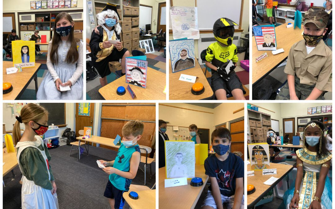 Fifth Grade Living Wax Museum Biography Project