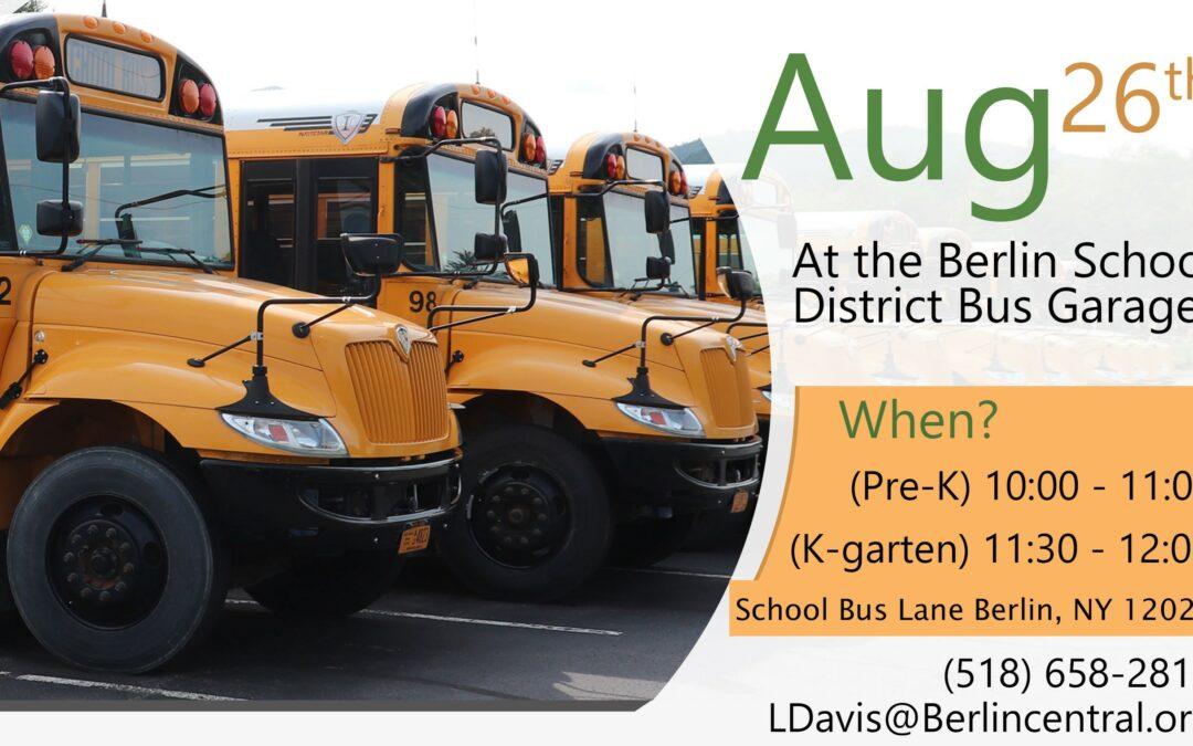 REMINDER Pre-K and Kindergarten Families: Transportation Orientation