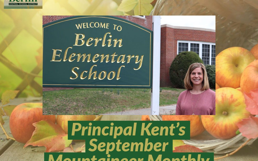 BES Mountaineer Monthly: Welcome to the 2021-2022 School Year!