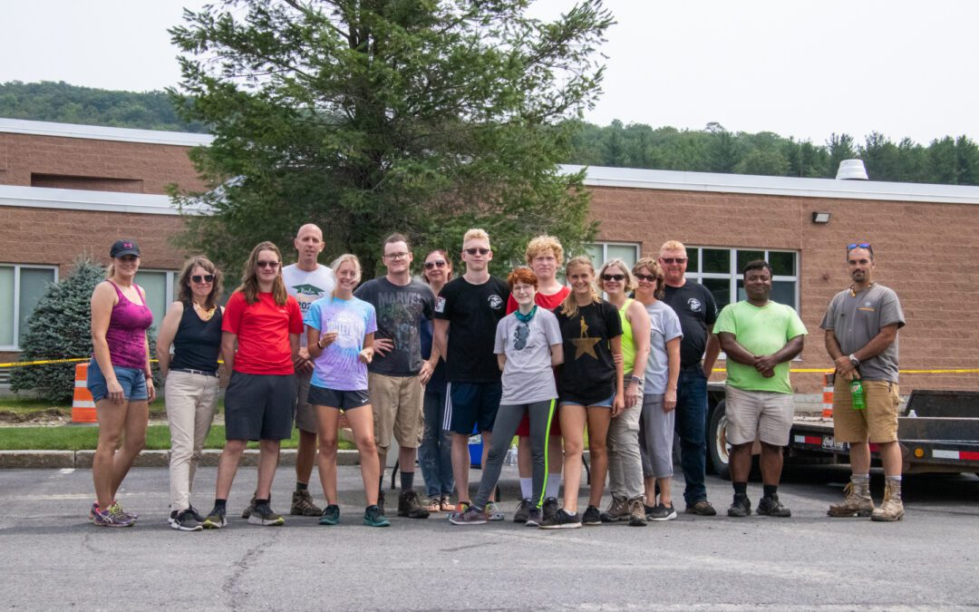 Berlin Cross Country Trail Clean Up Day a Success