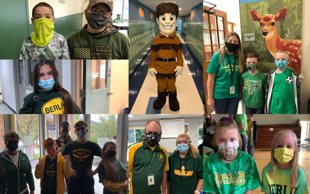 District-Wide Green and Gold Day Album