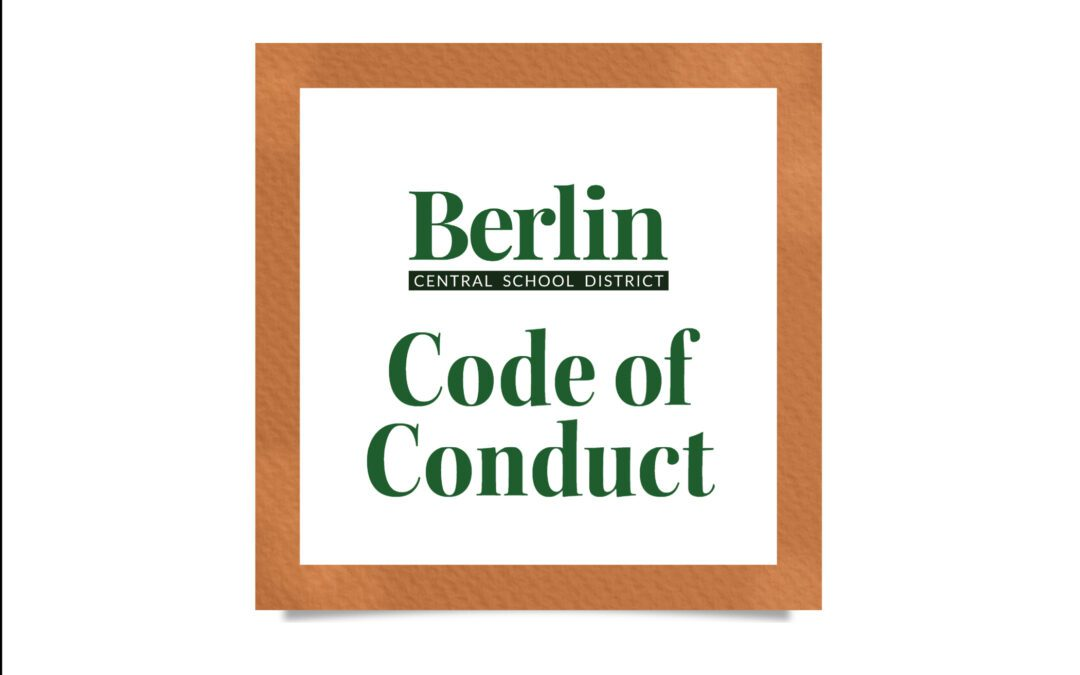 BCSD's 2021-2022 Code of Conduct