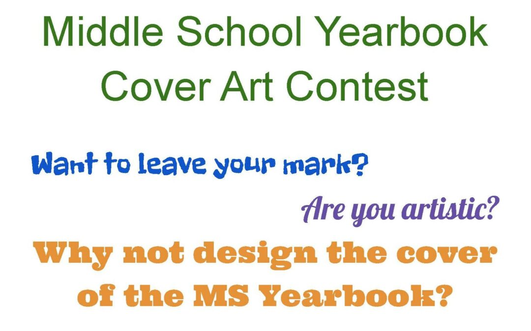 BMS Announces Yearbook Cover Contest