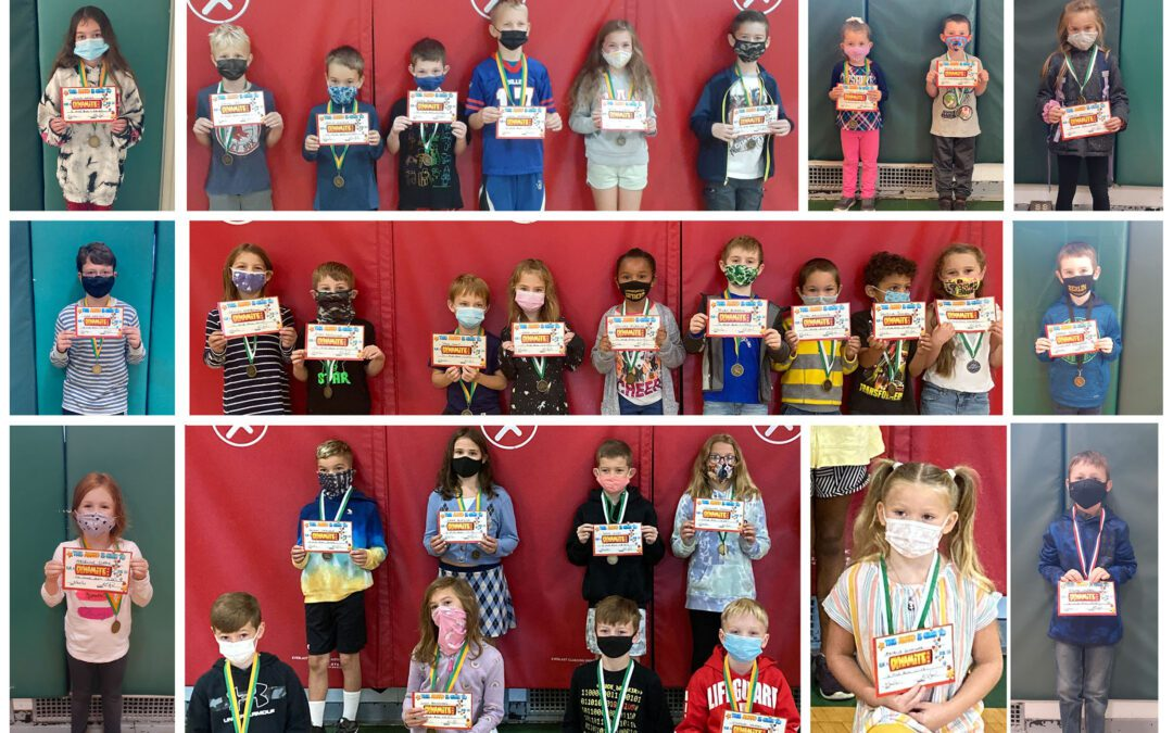 BES Physical Education Class Announces the Fall Fitness Run Medalists