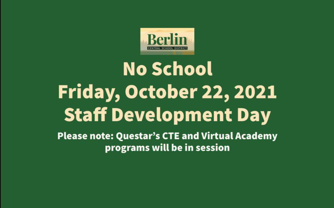 BCSD Staff Development Day 10/22